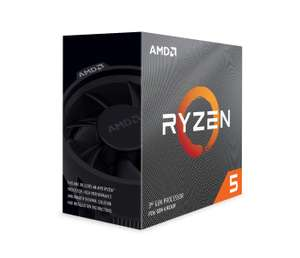 AMD Ryzen 5 3600 Gen3 6 Core AM4 CPU/Processor with Wraith Stealth Cooler £188.99 at Amazon