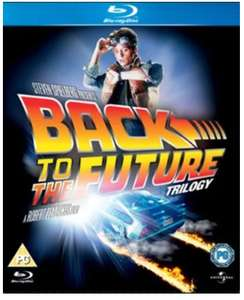 Back to The Future Trilogy Blu-ray Used £4.49 delivered w/code @ Music Magpie