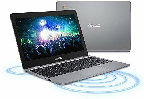 ASUS Chromebook C223NA - Intel Celeron N3350, 4 GB RAM, 32 GB eMMC, 11.6 Inch HD Screen, Chrome OS - £159.99 @Amazon