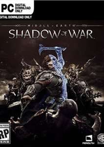 [Steam] Middle-earth: Shadow of War PC - £4.49 @ CDKEYS