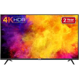 """TCL 50DP628 50"""" Smart 4K Ultra HD TV with HDR10 and Freeview Play @AO"""