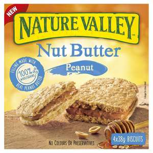 Nature Valley Nut Butter Peanut Bar 38g. 5 for £1 @ Heron Foods