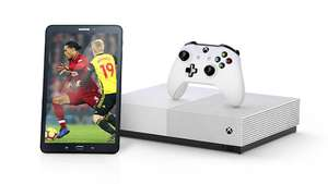 BT Sport & Broadband Packages Get a tech gift Xbox One s or Samsung Tablet worth up to £249 + £40 Bt Gift card
