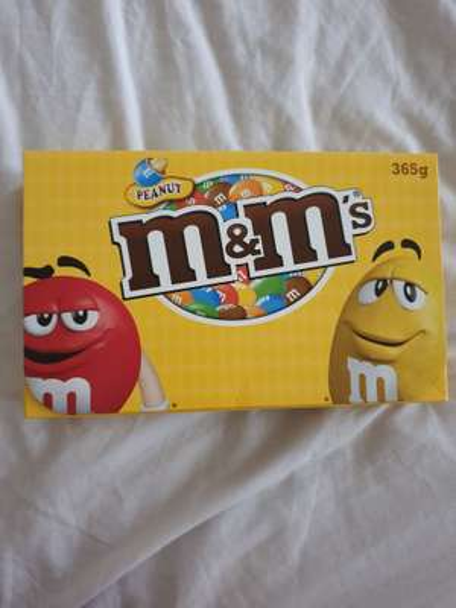 M&M's chocolate peanuts box 365g £2 in Poundland