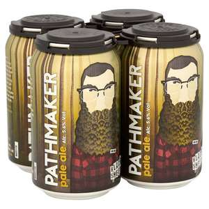 Black Sheep Brewery Pathmaker Pale Ale 4 x 330ml - Home Bargains (In Store)