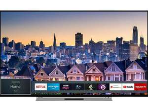 Toshiba 55UL5A63DB 55-Inch Smart 4K Ultra-HD HDR LED WiFi TV with Freeview Play- Black/Silver (2019 Model) - £399 DOTD @ Amazon