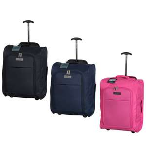 Excel Foldable Cabin Trolley Bag Suitcase, Now £7.99 @ B&M