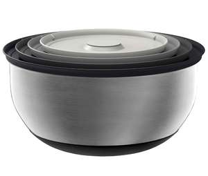 Joseph Joseph Prep & Store 100 Collection Prep and Store Nest Bowls, Stainless Steel at Amazon £47.32