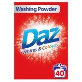 Daz Washing Powder Whites & Colours 40 Washes 2.6kg £4 at Morrisons