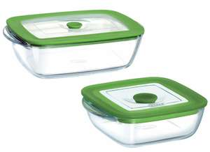 Pyrex 4 in 1 Rectangle Dish / Square Dish with Steam Lid - £4 @ Dunelm (+10 year guarantee) Reserve & Collect only