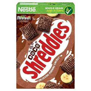 Nestle Coco Shreddies Cereal 500G £1.30 at Tesco