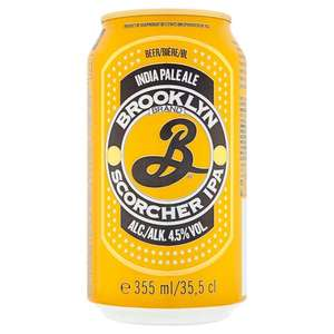 Brooklyn Scorcher Ipa- 355Ml Can 79p at Home Bargains-Instore