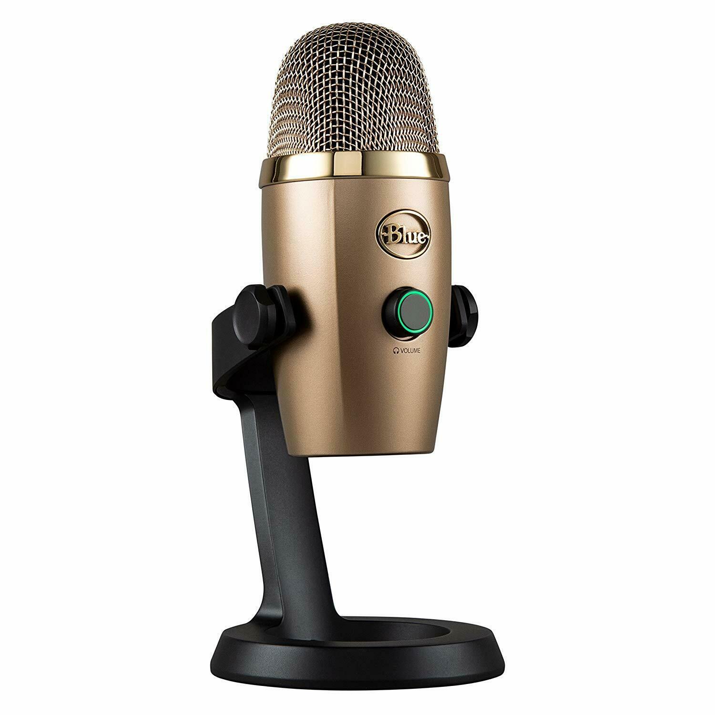GOLD Blue Microphone Yeti Nano USB - Cubano - Brand New Stock - £52.95 delivered @ VelocityElectronics @ eBay