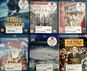 Bargain Blu-rays at CEX from £1.00 incl. Troll Hunter