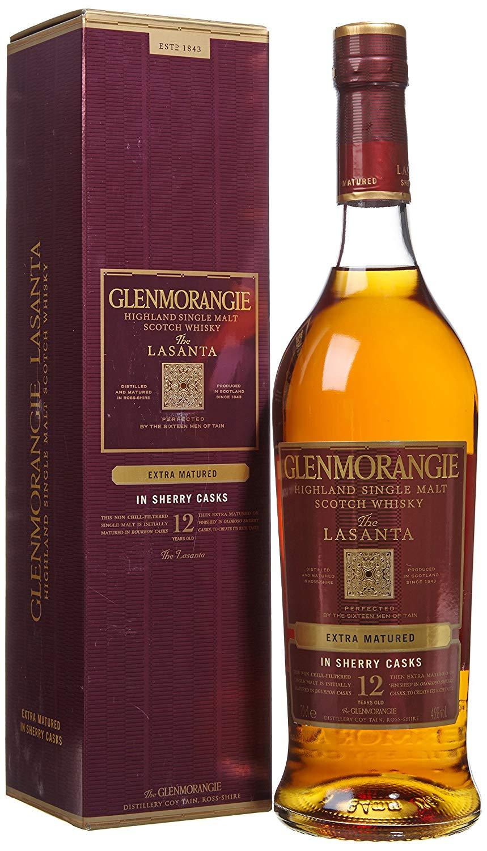 Glenmorangie Lasanta Highland Single Malt Whisky 70cl - £35 @ Sainsbury's