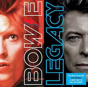 David Bowie - Legacy (The Very Best Of) CD + Autorip now £4.09 (Prime) + 99p (non Prime) at Amazon