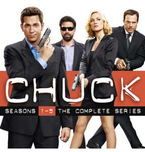 Chuck: The Complete Series (seasons 1-5) £19.99 on iTunes