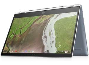 "HP X360 Chromebook, i3, 8gb, 64gb eMMC, 14"" FHD touch screen Was £549 now £529 @ HP Store"