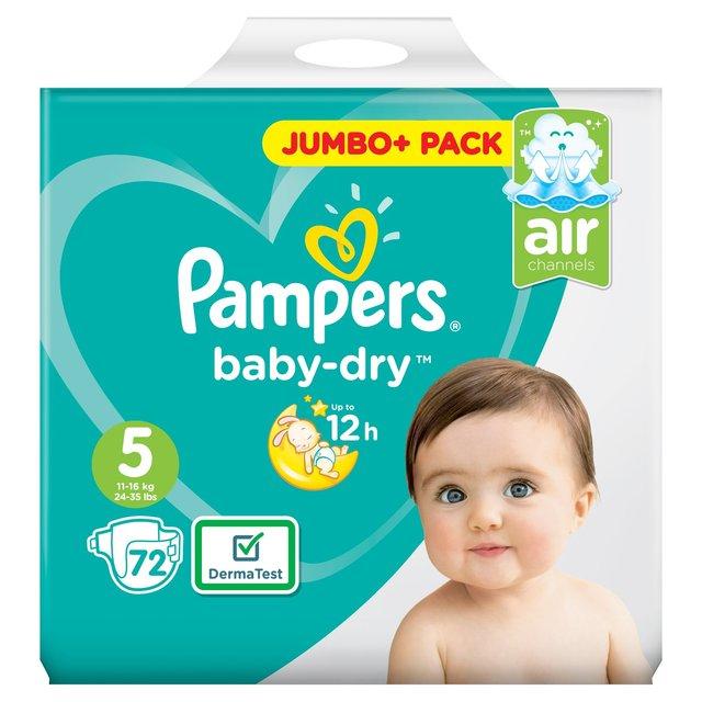 PAMPERS JUMBO PACKS - £7 @ Morrisons