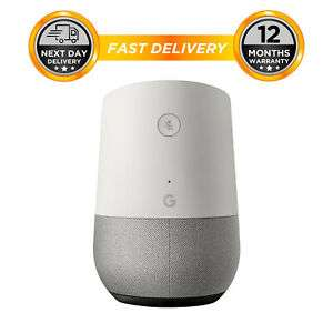 Google Home Voice-Activated Wireless Bluetooth Speaker With Google Assistant + 12 Months Warranty - £54.39 @ hitechelectronicsuk eBay
