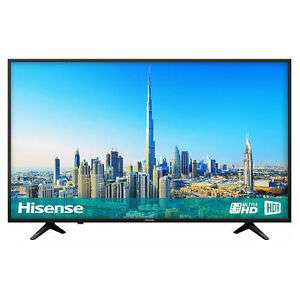 Hisense H43A6200UK 43 4K DLED Ultra HD HDR Smart TV £225.20 with code PAYDAY20 @ Hughes eBay