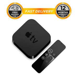 Apple TV 4th Gen 64GB HD media streamer WiFi With Remote MLNC2B/A (Refurb) + 12 Months Warranty - £91.99 w/code @ Hitechelectronicsuk eBay