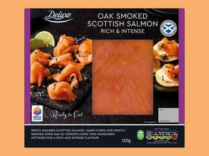 Deluxe Scottish Smoked Salmon 100g £1.69 @ Lidl