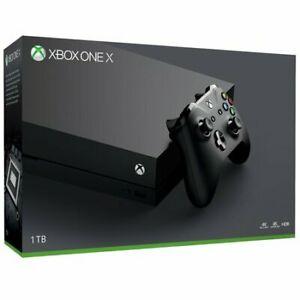 Microsoft Xbox One X 1TB Console Refurb £223.99 w/code @ stockmustgo ebay