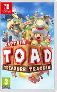 Captain Toad Treasure Tracker Nintendo switch £7.50 @ Tesco instore