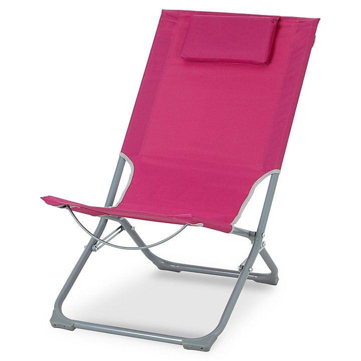 Curacao  Metal Beach chair(3 colours), £12 at B&Q-free c&c