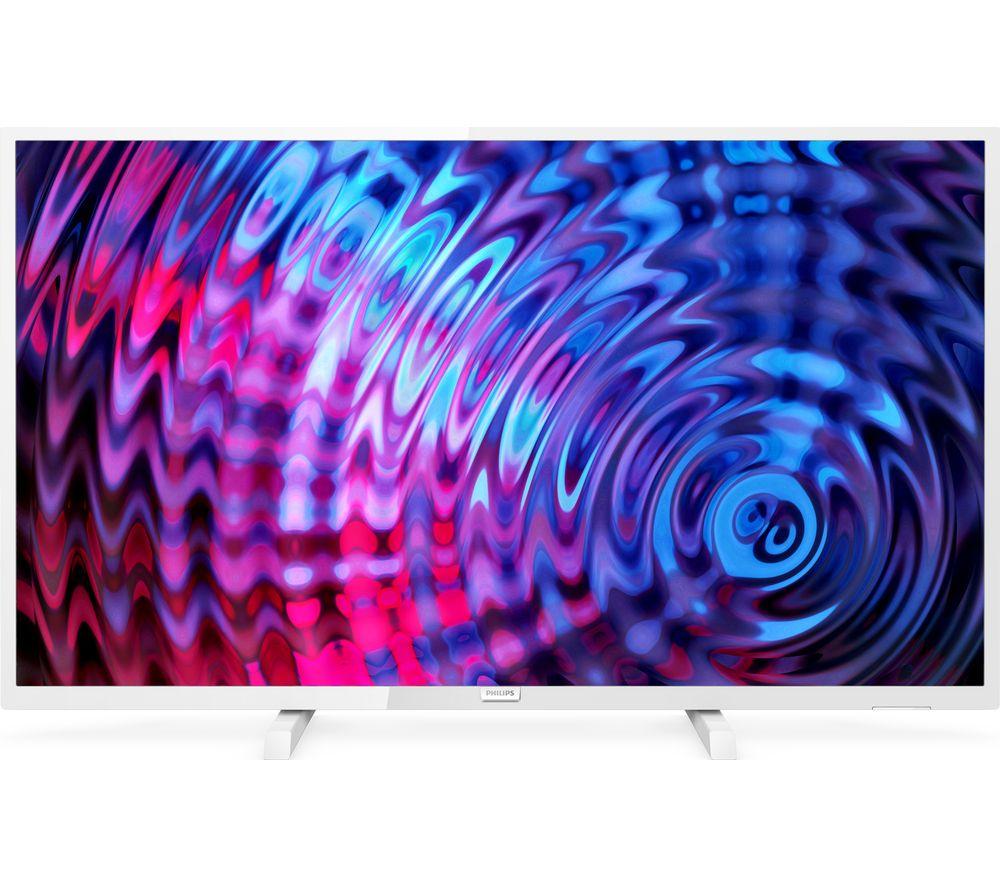 """PHILIPS 32PFT5603/05 32"""" Full HD LED TV - White  white bezel £180 @ Currys PC World"""