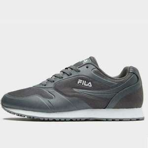 Fila Men's Forerunner Classic Trainers Grey/Navy/Black Various Sizes £23.19 delivered w/code @ jdoutlet ebay