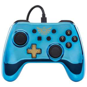 Wired Controller for Nintendo Switch - Chrome Zelda £12.99 at Argos C&C