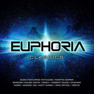 Euphoria Classics - Ministry Of Sound £4.48 Sold by Bee-Entertained and Fulfilled by Amazon Prime / £5.47 Non Prime