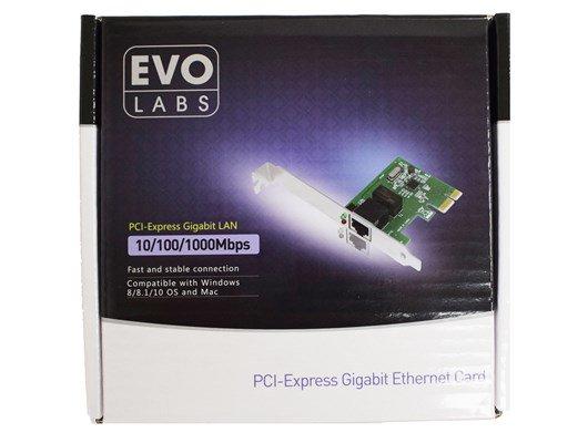 Evo Labs NPEVO-PCIEGI 1000Mbps PCI Network card £6.50 at CCLOnline