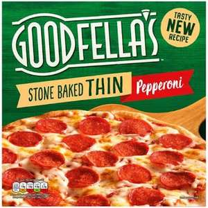 Goodfella's Stone Baked Thin Pepperoni 340g / Margherita 345g 89p each @ Iceland