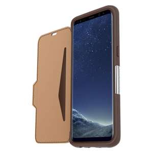 OtterBox Strada Series for Samsung Galaxy S8+ - Burnt Saddle Brown now £3.99 (Prime) + £4.49 (non Prime) at Amazon