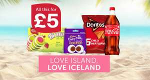 Iceland Love Island Bundle for £5 - Snacks to prepare for the final!