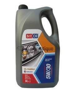 5 litres 5w30 fully synthetic engine oil £14.49 @ ebay / exosltd