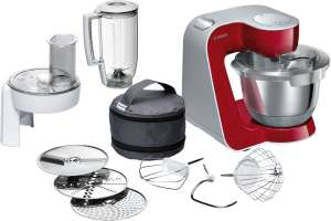 Bosch MUM58720GB Stand Mixer & 12 Accessories Kit - Red - PayDayDeal @ AO