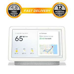 Google Home Hub Smart Voice Assistant with Touch Screen, £67.96 delivered @ eBay Hitechelectronics UK