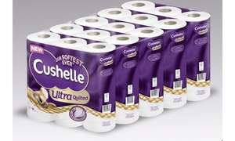 Cushelle Toilet Tissue 3-Ply 45 Rolls £11.98 instore @ Costco