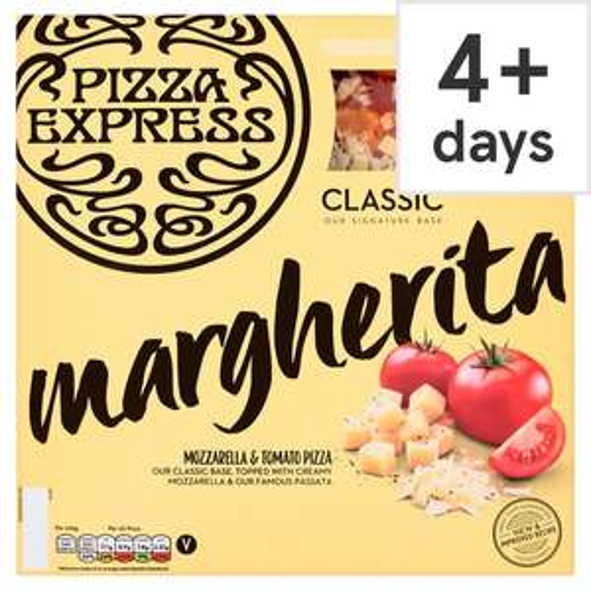 Pizza Express Large Pizzas 455g (Margherita  / American / Diavolo) £3 @ Tesco