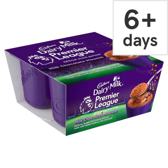 Cadbury's X4 Bubbles Of Joy Chocolate Mousse , Now 75p @ Tesco