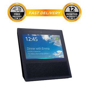Amazon Echo Show (1st Generation - new in plain box) Smart Assistant - Black, FROM eBay Hitech Electronics UK