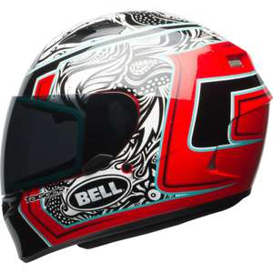 Bell Qualifier Tagger Splice Motorcycle Helmet £79.99 Delivered using code @ eBay / Ghostbikes