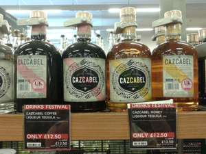 Cazcabel Honey or Coffee Tequila Liqueurs 70cl £12.50 at M&S Liverpool  in-store