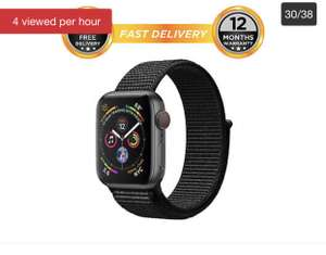 Apple Watch Series 4 GPS 40mm 44mm GPS Only All Colours Aluminum Case £354.95 at hitechelectronicsuk eBay