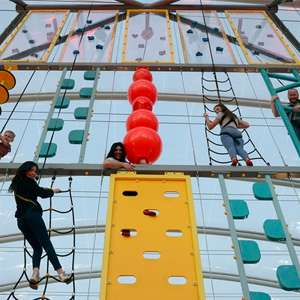 One-Hour HiRide and Climbing Pass for One (£9.02) or Two (£17.10) at Aerial Adventures, Two Locations via Groupon