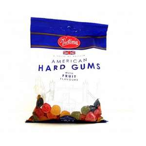 250g Victoria American Hard Gums for 10p @ Poundstretcher